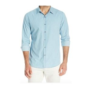 Theory Men's Zack Long-Sleeve Button-Front Shirt